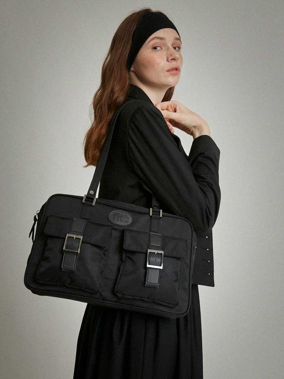 [리퍼브40%할인] Sister Macintosh Shoulder Bag (black)