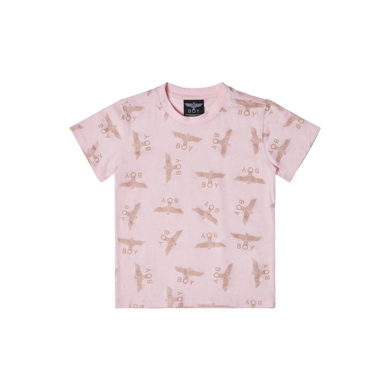 韩国 BOY LONDON 官方网站自主品牌[KIDS] EAGLE BOY ALL OVER T-SHIRT