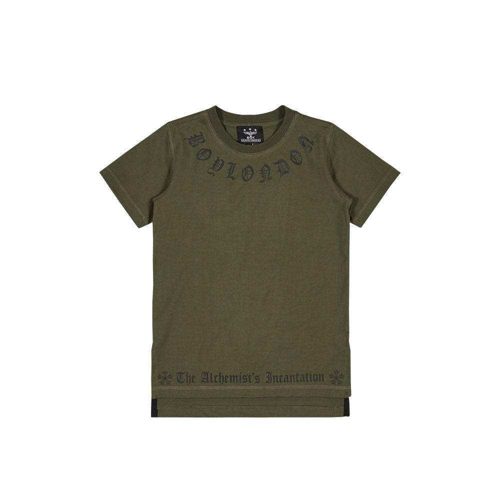 BOY LONDON (KOREA)자체브랜드[KIDS] 레터링 롱 티셔츠