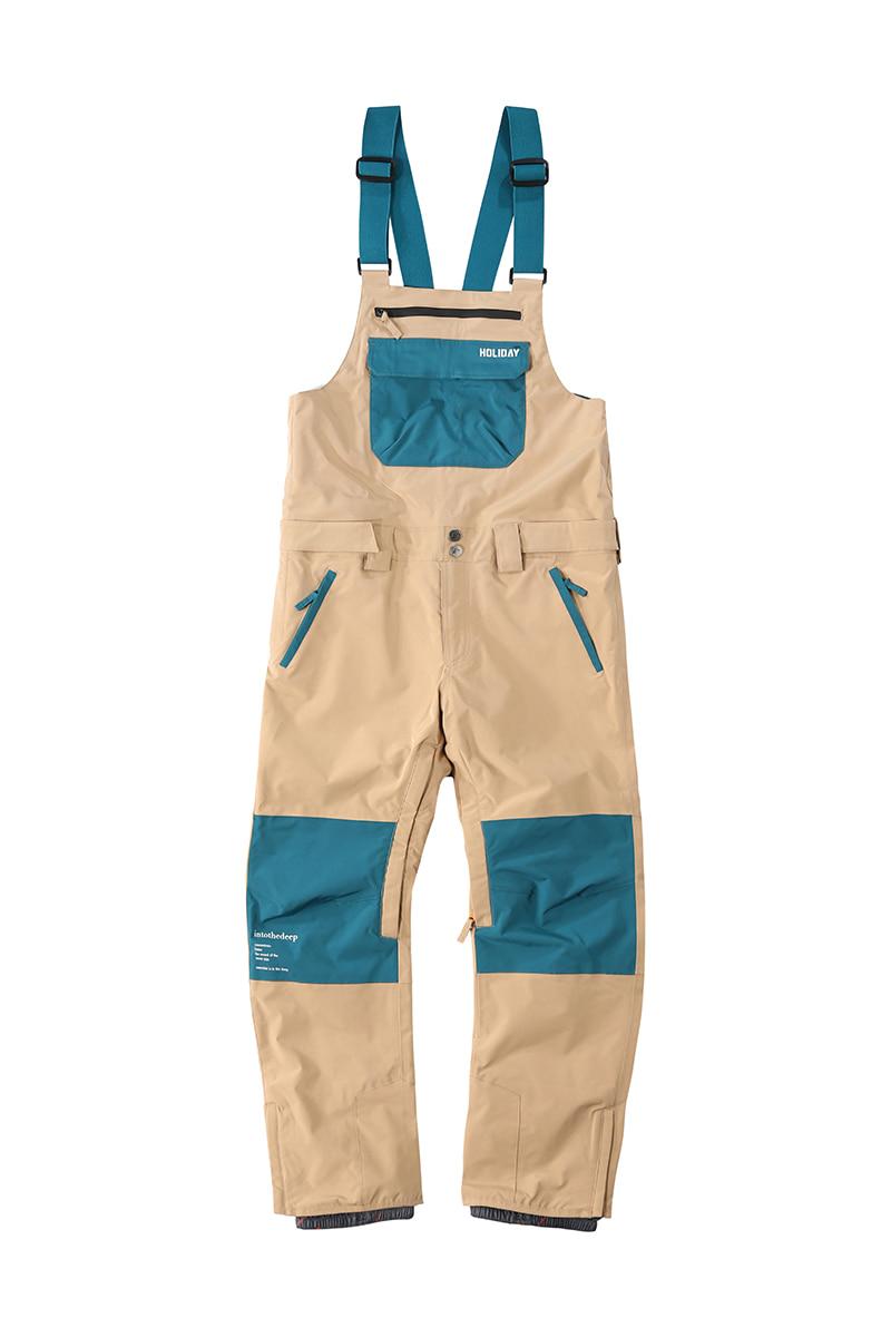 DIGGER 2L bib pants - beigeHOLIDAY OUTERWEAR