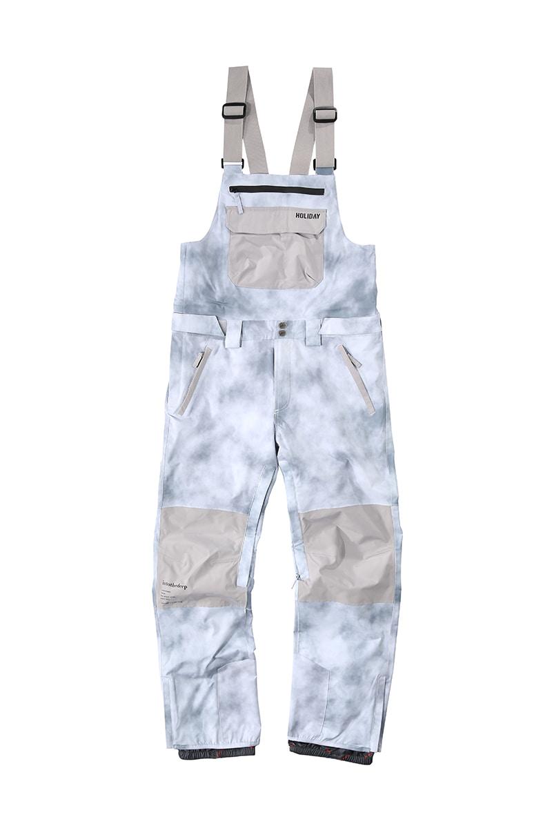 DIGGER 2L bib pants - cloud greyHOLIDAY OUTERWEAR