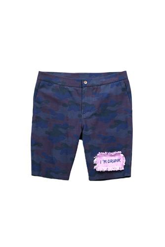 [16 S/S] Drunken short pants