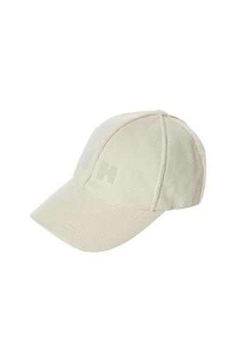 [17 F/W] SKULLHONG INITIALS BALL CAP (IVORY)