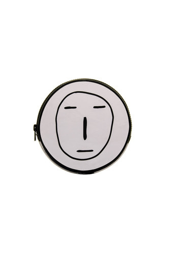 [18 S/S] POKER FACE CIRCLE POUCH