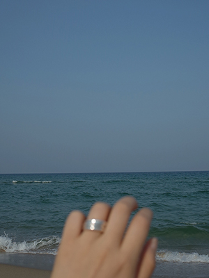 (silver 925)simple ring