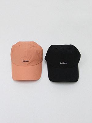 (freckle made♥)freckle cap(salmon,black!)