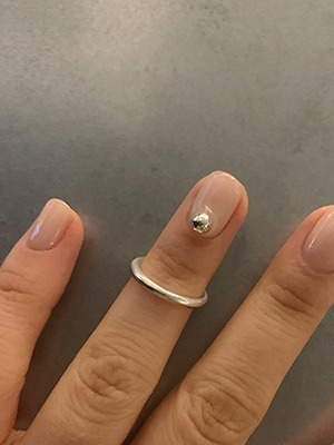 band ring in silver925