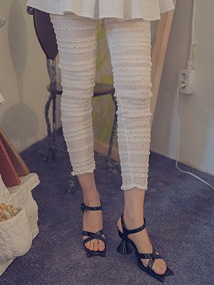 (freckle made♥)smoke banding frill (ivory!)