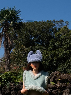 (freckle made♥)frencky hat in blue(한정수량)/2차