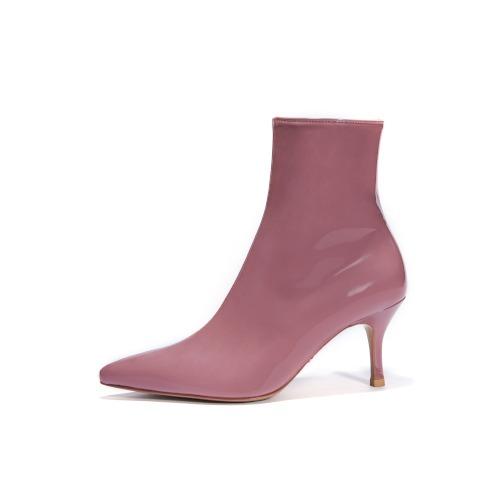브리아나 Briana The Boots_Mud Pink Patent