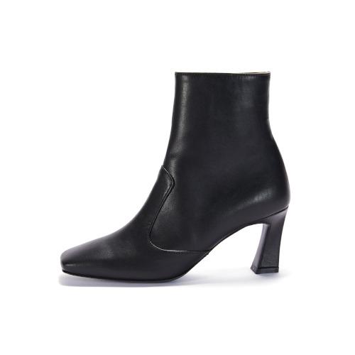 브리아나 Briana Block Ankle Boots_Black