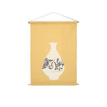 한국전통 도자기문양 티타월Korean Traditional Pottery Pattern Teatowel& Deco fabric