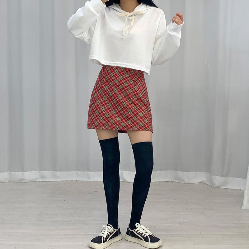 迷你裙 模特形象-S1L17