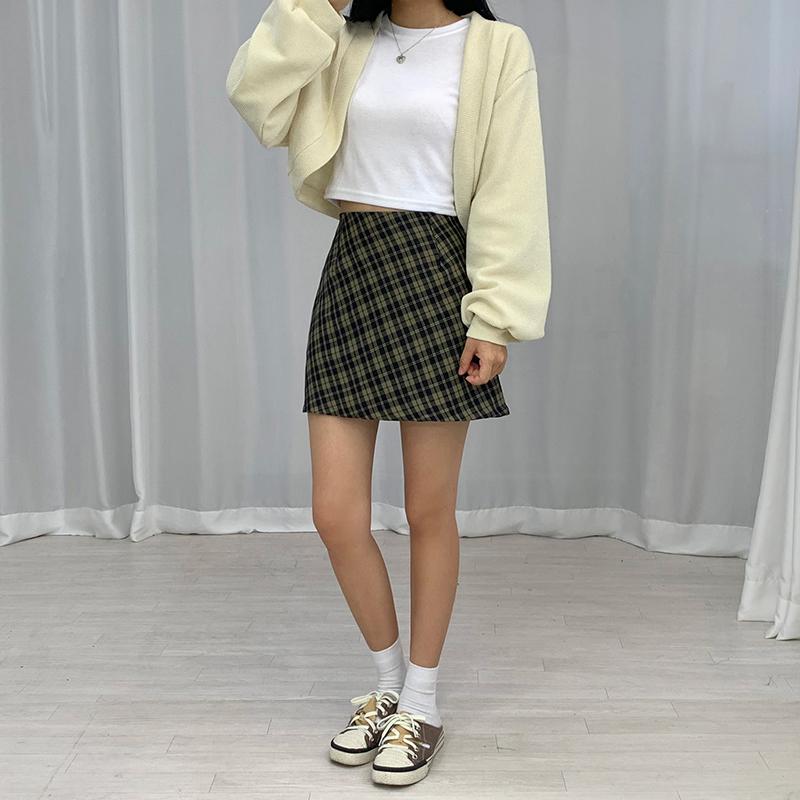 迷你裙 模特形象-S1L32
