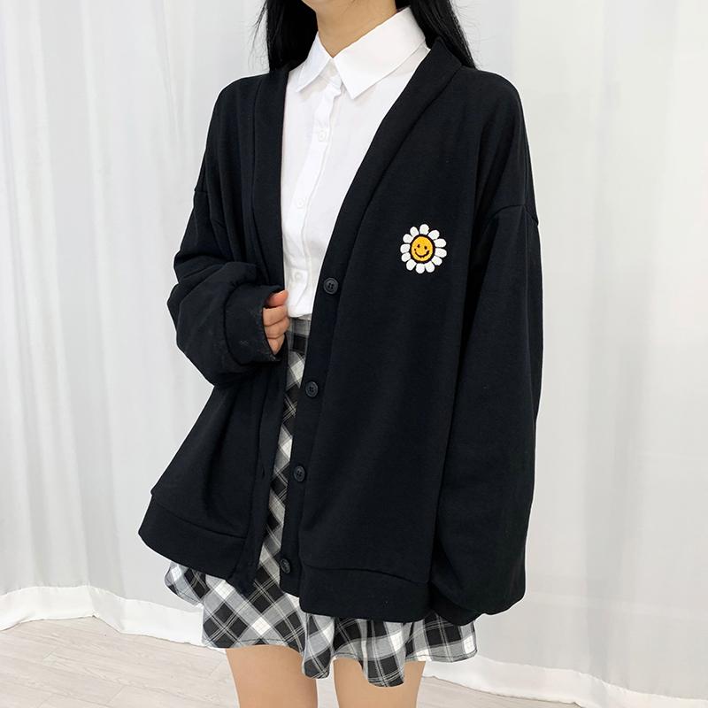开襟衫 模特形象-S4L8