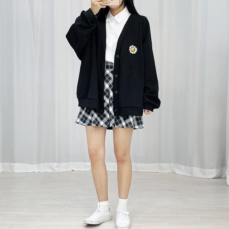 开襟衫 模特形象-S4L14