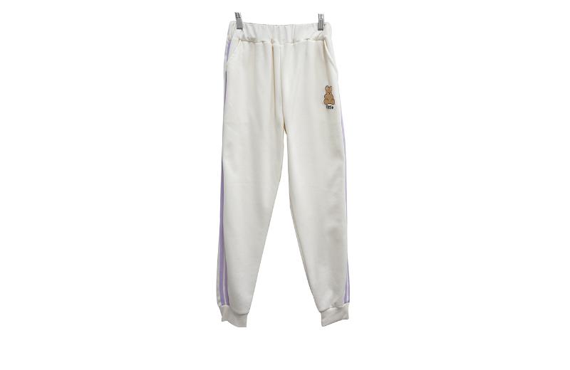 長袖Tシャツ ホワイト 商品カラー画像-S1L8