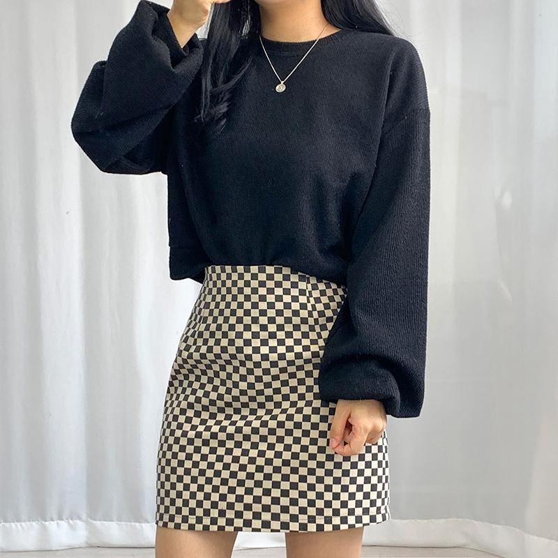 ミニスカート モデル画像-S1L25