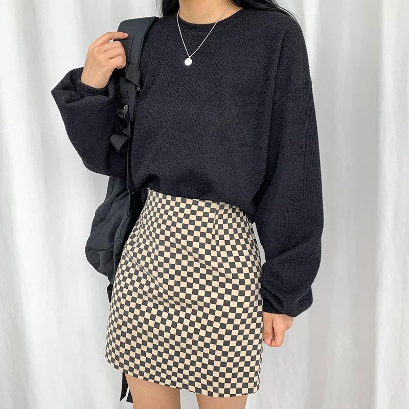ミニスカート モデル画像-S1L27