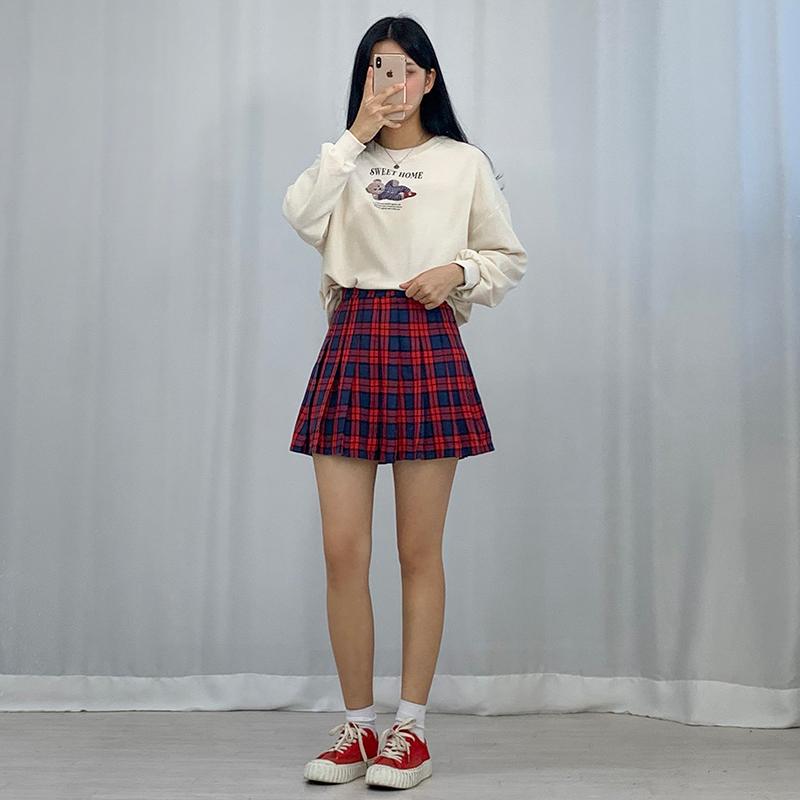 長袖Tシャツ モデル画像-S1L20