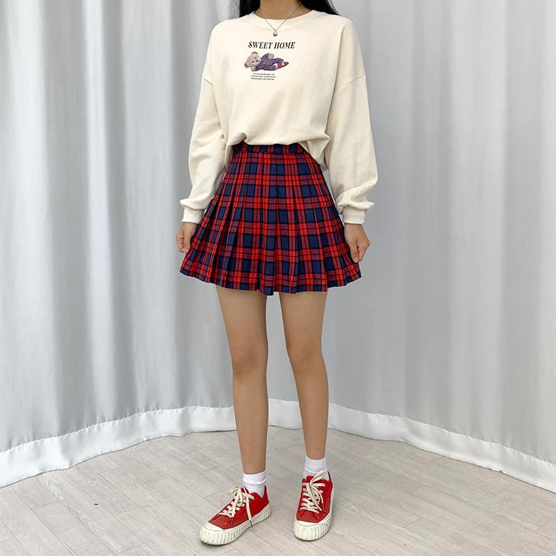 長袖Tシャツ モデル画像-S1L19