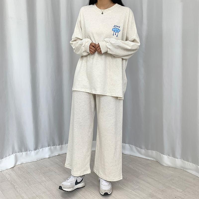 長袖Tシャツ モデル画像-S1L34