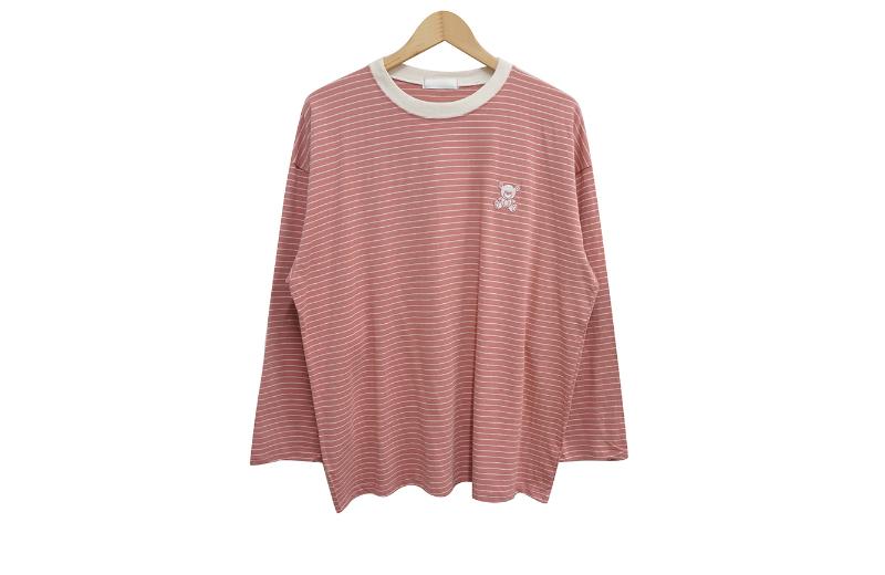 长袖三通 coral 彩色图像-S1L10
