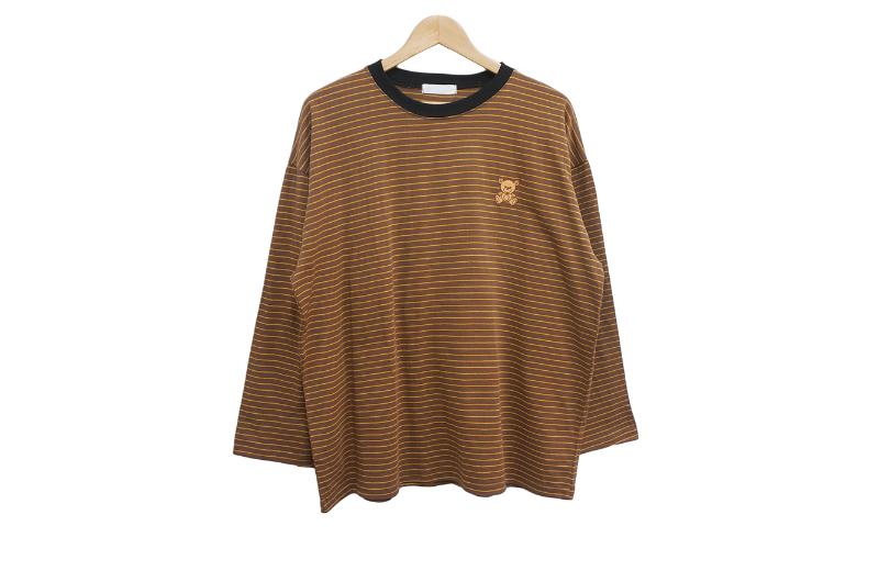 长袖三通 brown 彩色图像-S1L8