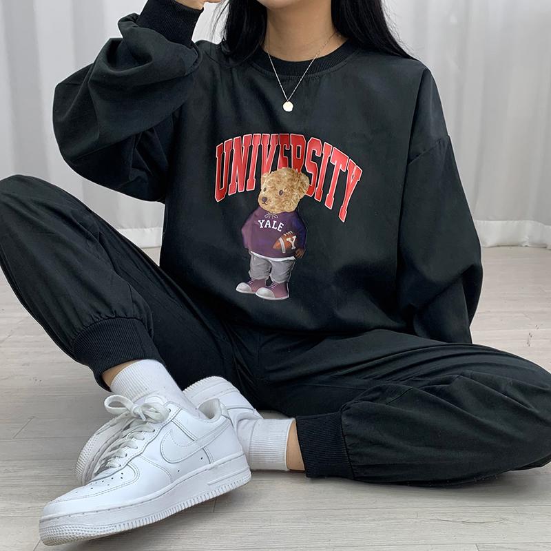長袖Tシャツ モデル画像-S1L15