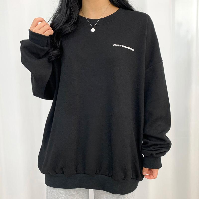 긴팔 티셔츠 모델 착용 이미지-S1L18