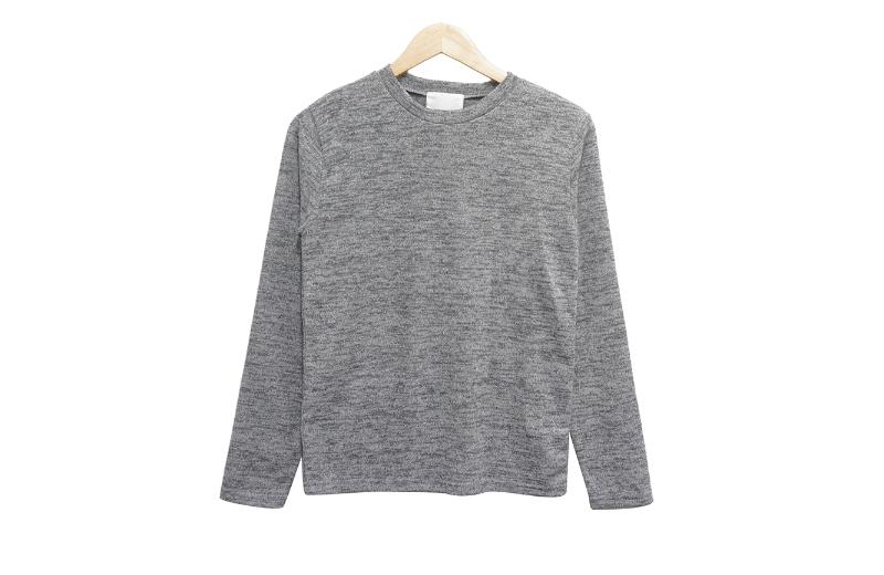 長袖Tシャツ グレー 商品カラー画像-S1L11