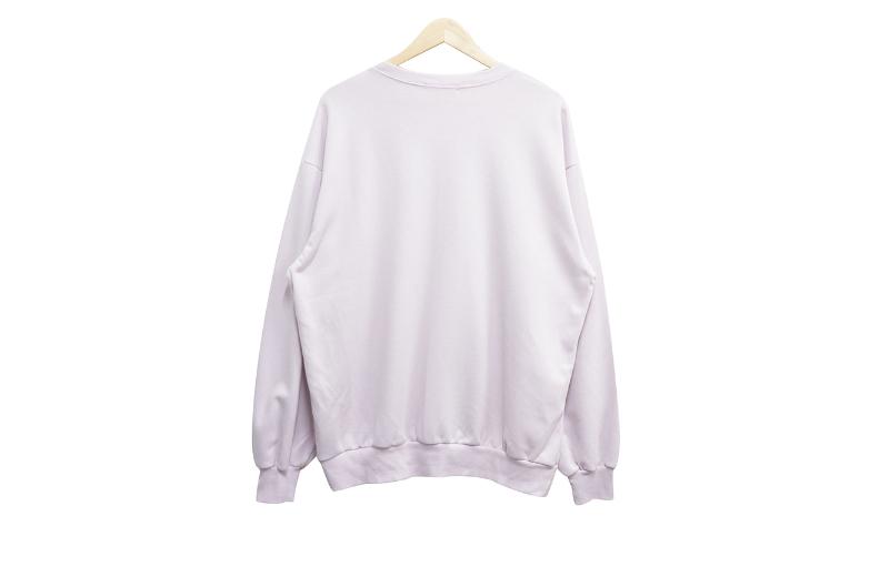 長袖Tシャツ ホワイト 商品カラー画像-S1L7