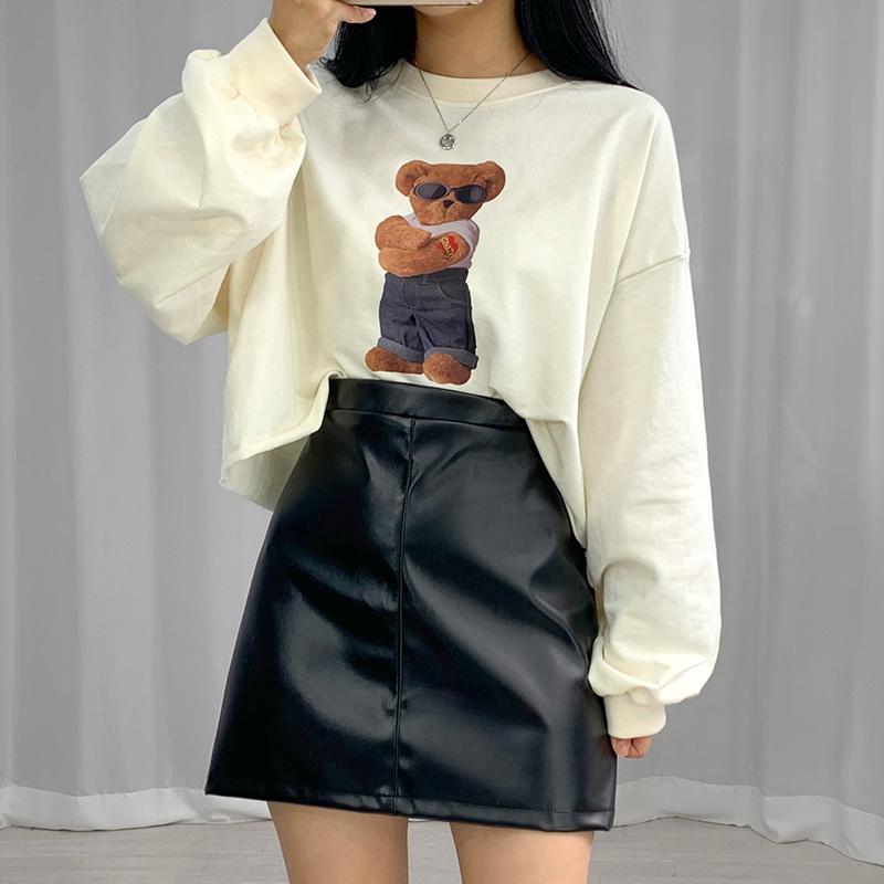 ミニスカート モデル画像-S1L12
