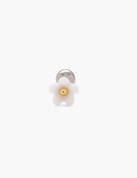 M01847 진주포인트 미니 자개꽃 피어싱