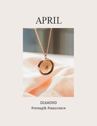 4월탄생석 수정&다이아몬드