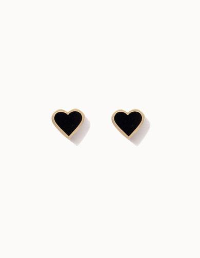 제이로렌 G0245 14K 블랙 하트 귀걸이 [하트귀걸이,블랙하트귀걸이,14K하트귀걸이,14K골드큐빅귀걸이,데일리금귀걸이,미니골드귀걸이,미니큐빅귀걸이,14k,14K귀걸이,금귀걸이,골드귀걸이,14K골드귀걸이]
