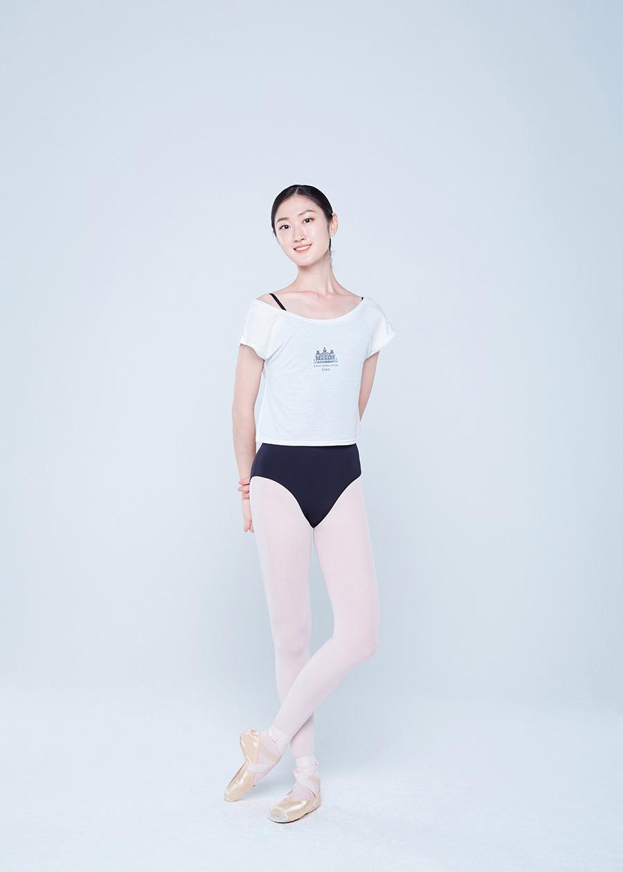 크롭 티셔츠 / White