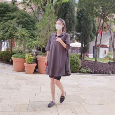 [클래시마스터] 애견미용블라우스(플레어) 미용가운 유니폼 털안붙는옷