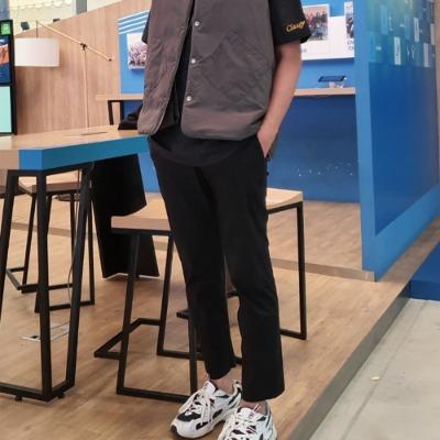 [클래시마스터] 애견미용바지 미용가운 유니폼 수험용 빅사이즈 슬랙스