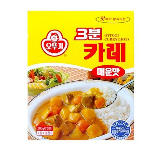 오뚜기_삼분 카레 [매운맛] 200g