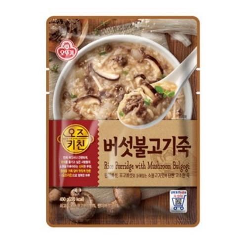 오뚜기_오즈키친 버섯불고기죽(파우치) 450g