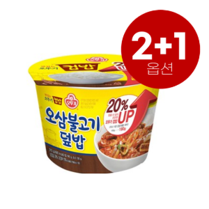 [2+1]오뚜기_맛있는 컵밥 [오삼불고기] 280g