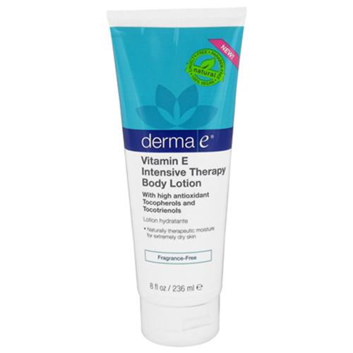 Derma E - Vitamin E Intensive Therapy Body Lotion, Fragrance-Free -더마 이- 비타민 E 바디 로션 무향- 236 ml