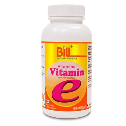 Bill Vitamin E 400IU 120SG