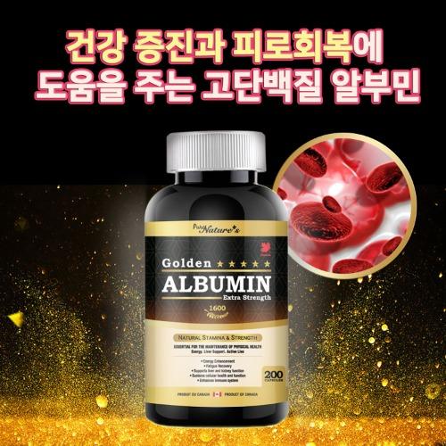 골든 알부민 - 고함량 1600mg 고단백질 PNC 피로회복