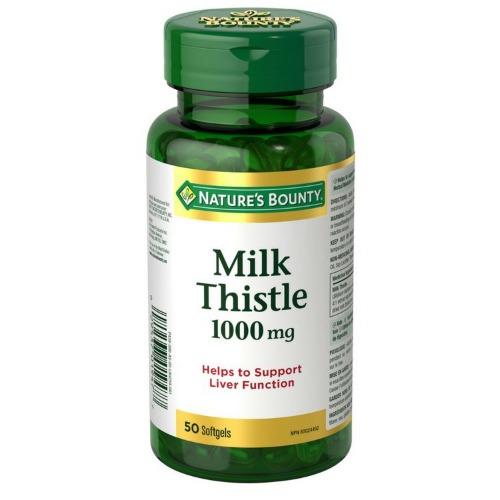 네이쳐스바운티 밀크씨슬 1000mg 50캡슐 간건강 피로회복 소화장애