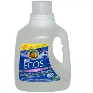 Earth Friendly Products, ECOS 라벤더 런드리 리퀴드 (빨래액상 세제)Lavender Laundry Liquid 6.21L