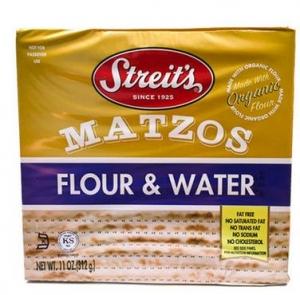 Streits -Organic Flour & Water Matzo- 스트라이트 오가닉 플라워&워터 맛초(무교병)