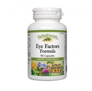 Natural Factors 내추럴 팩터스 - Eye Factors Formulas 아이 팩터 포뮬라 (눈 건강 보조제) 90caps