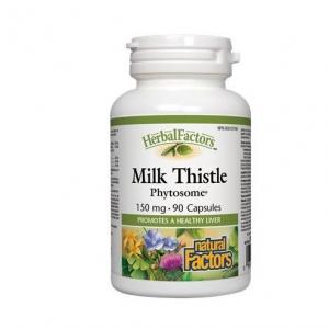 Natural Factors 내추럴 팩터스 - Milk Thistle Phytosome (간 질환 보조제) 90caps